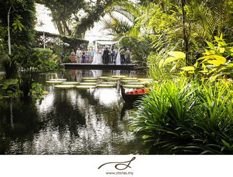 Garden Wedding Concept In Malaysia by Amazing Rainforest Weddings Make Us Proud To Be Malaysian