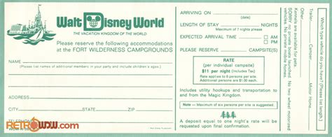 Reservation Letter For Items misc wdw resort items gallery retrowdw