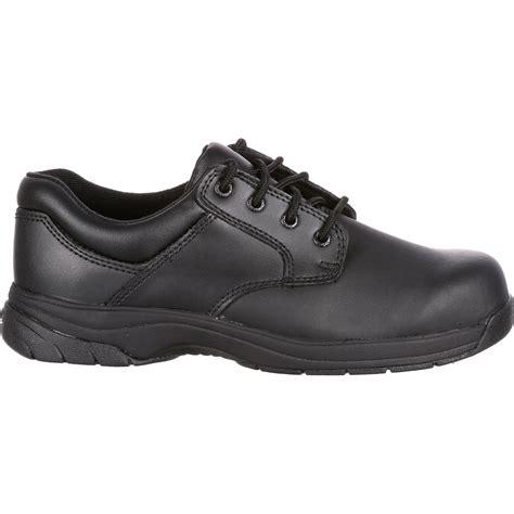 rocky oxford shoes s plain toe oxford shoe rocky slipstop 911 fq0002034