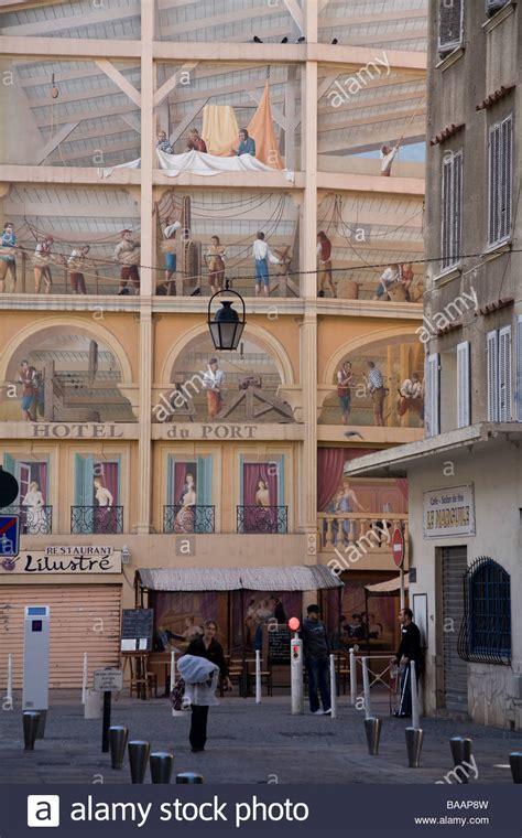 speisesã le san francisco trompe l oeil mural on the wall of the bar le san