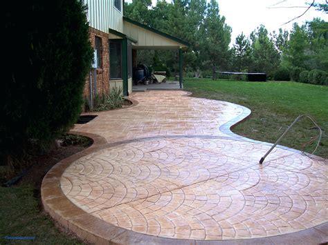 Backyard Concrete Ideas Elegant Patio Ideas Backyard