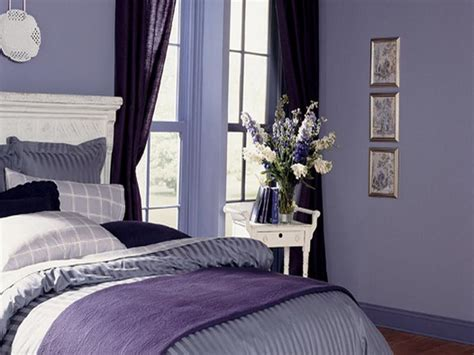 purple color schemes for bedrooms best purple paint color for bedroom walls your dream home