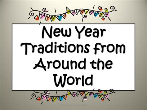 new year morning traditions new year around the world traditions customs