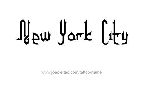 tattoo alphabet city nyc new york city name tattoo designs tattoos with names