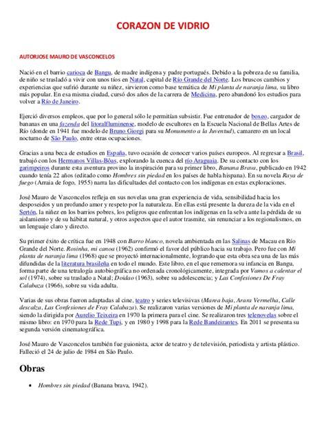 Resumen O Corazon De Xupiter by Obra Corazon De Vidrio