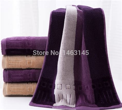 colors microfiber towel set 2pcs face towel 1 34 80 cm bath towel 2pcs lot high quality luxury face towel cotton striped