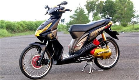Mio Babylook Hitam by Modifikasi Motor Beat Karbu Automotivegarage Org
