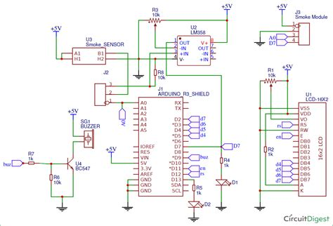 wiring diagram for line follower line following robot