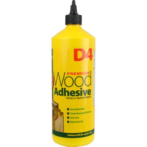 woodworking glues d4 wood glue 1l toolstation