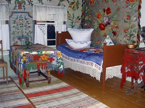 russian bedroom an interior of the russian peasant s bedroom late 19th