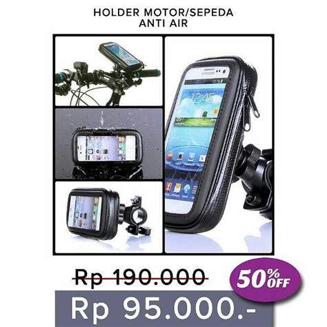 Jenis Iphone Hp holder motor sepeda anti air bike holder hp bb gps