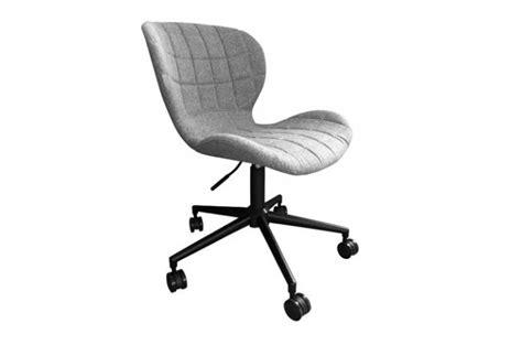 chaise de bureau grise pas cher