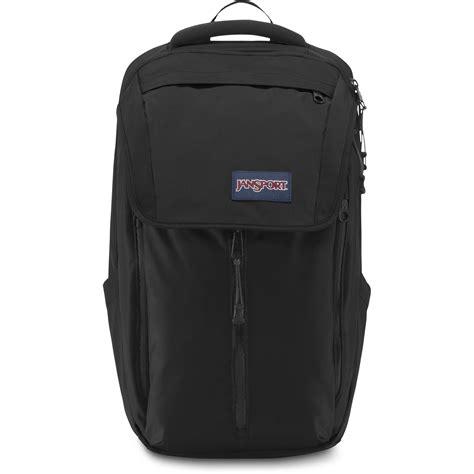 Jansport Black jansport source 26l backpack black js00t55a008 b h photo