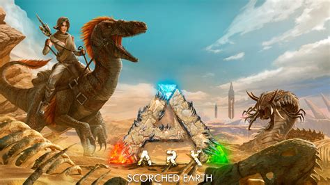 ark scorched earth   wallpapers hd wallpapers id