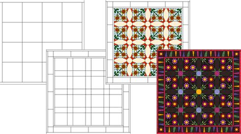Patchwork Software - electric quilt computer software design packages