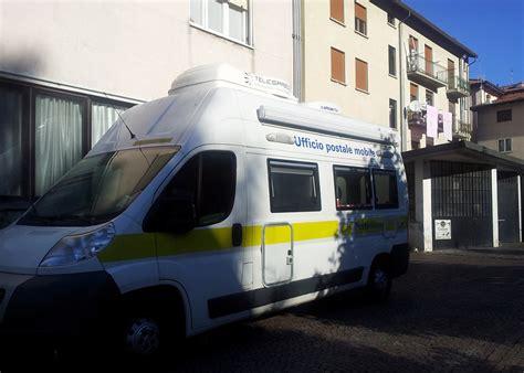 ufficio postale erba 187 ecco l ufficio postale mobile di ballabio in servizio