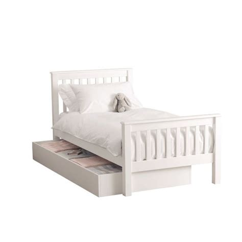 truckle bed classic single bed and classic truckle bed from the white company children s beds