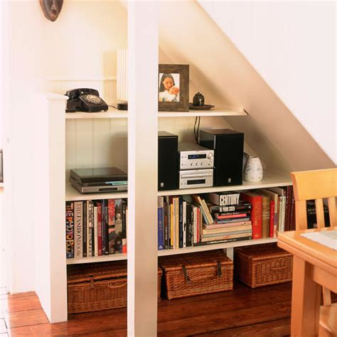 Under Stair Shelving under stairs shelves beautiful modern home