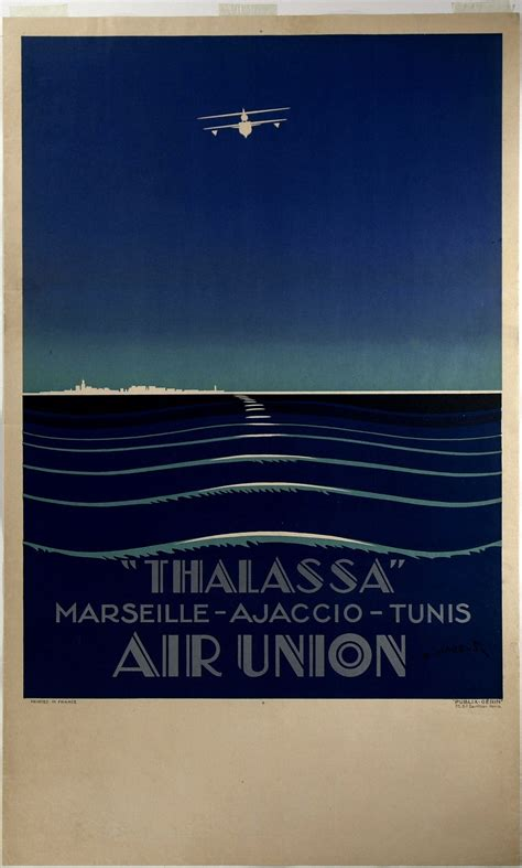 flying boat poster air union quot thalassa quot flying boat poster by edmond maurus