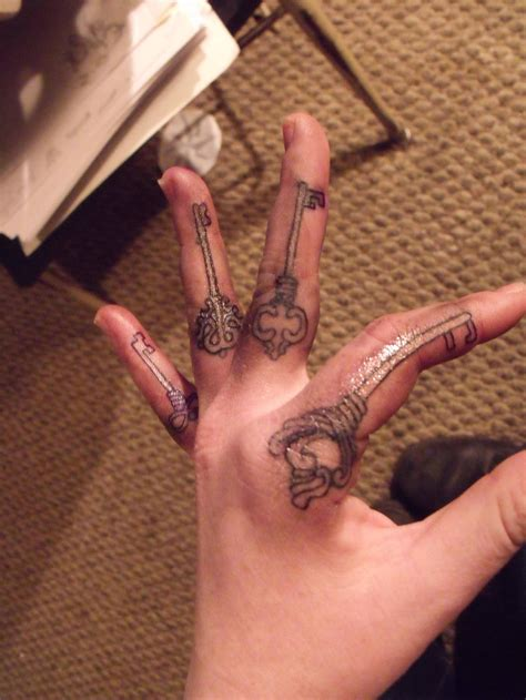 tattoo designs for fingers key tattoos designs ideas and meaning tattoos for you