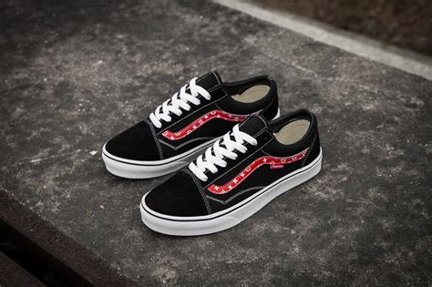 vans x supreme vans x chion x supreme skool classic black true