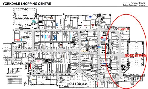 knox city shopping centre floor plan floor plan yorkdale shopping centre floor house plans