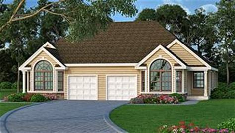 duplex house plans, floor & home designs by