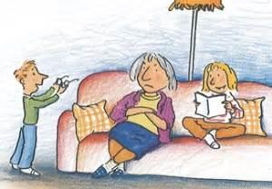 oma und opa saßen auf dem sofa mehr zeit f 252 r kinder e v warum legt oma ihre brille in