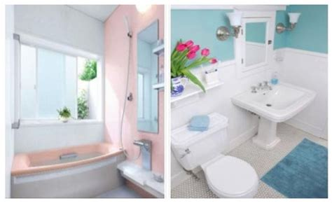 Bright colors bathroom decorating ideas for small spaces home