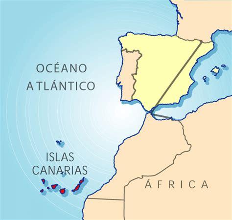 canarias y africa mapa metal y forja en canarias espa 241 a fascinante