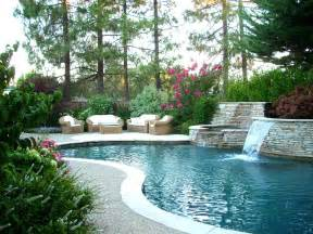 Backyard Pool Landscaping Ideas Landscape Design Ideas For Backyard Gardens In Danville Pleasanton
