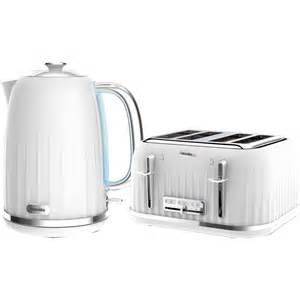 Breville White Kettle And Toaster White Brunch Set Kettle Toaster Coffee Filter Prezzo E