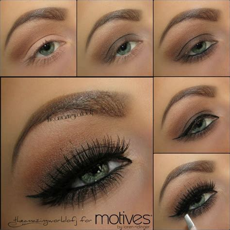 eyeliner tutorial top and bottom tutorial apply cappuccino on the crease as transition