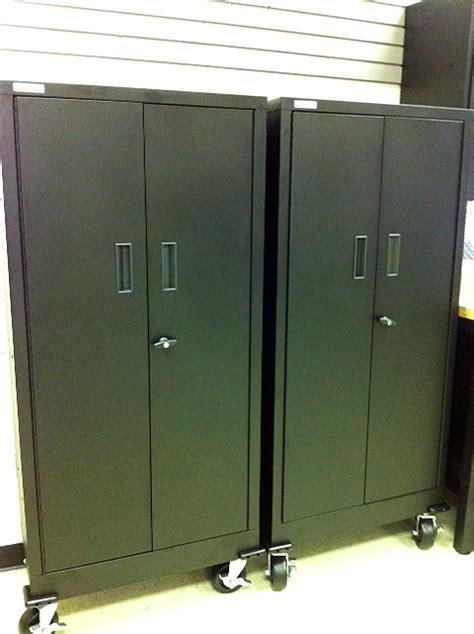 Garage Cabinets Black 5 Set Of Black Metal Garage Cabinets