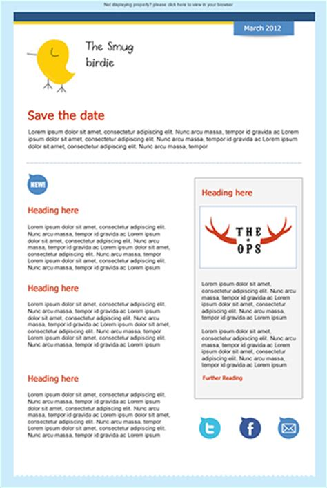 email save the date template corporate event save the