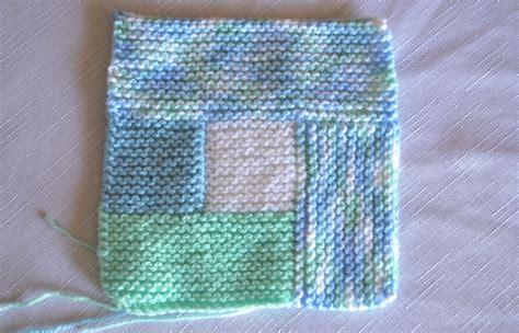 Garter Stitch Baby Blanket Pattern by Modular Garter Stitch Baby Blanket