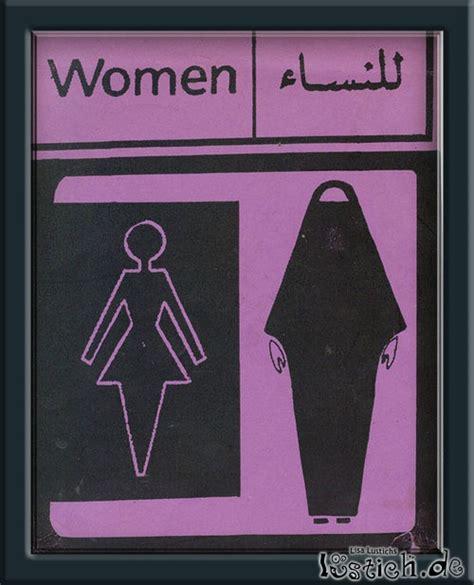Frauen Toilette