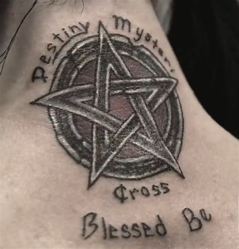 pentacle tattoo photo carlton gebbia s pentagram tattoos