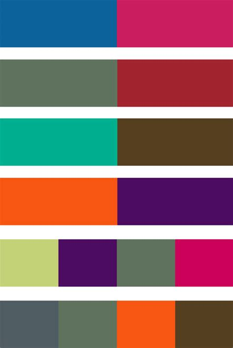 colour combinations trends archives