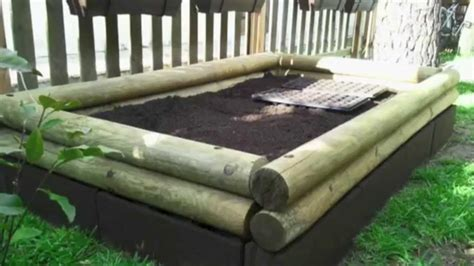 raised garden bed greenhouse hoop cover youtube