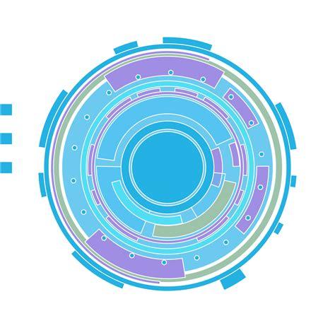 sao login tech circle scalable vector graphic