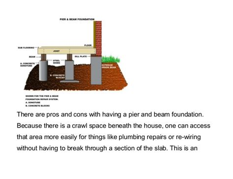 Pier Foundation House Plans What Is A Pier And Beam Foundation