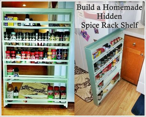diy rolling spice rack this step by step tutorial of how to build a