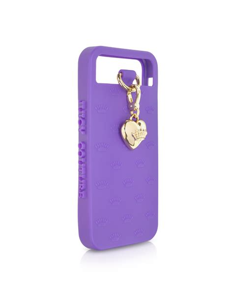 Jelly Iphone 5 1 couture charm iphone5 jelly in purple gold lyst