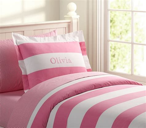 rugby stripe bedding rugby stripe duvet cover pottery barn kids