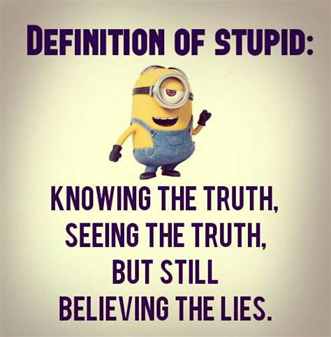 The Stupid definition of stupid minion quotes