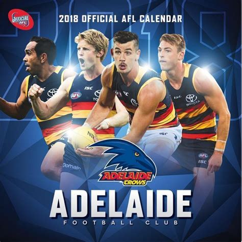 Adelaide Crows Adelaide Crows 2018 Afl Calendar Aflc18ac