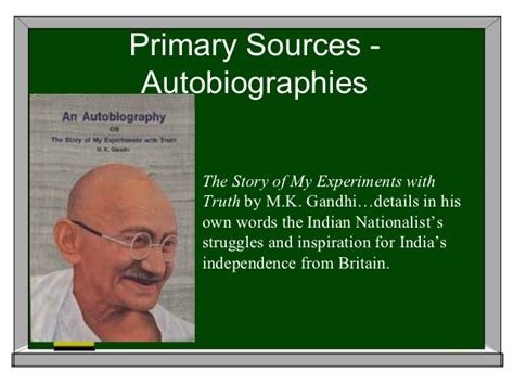 download share the story of my experiments with truth primary secondary sources