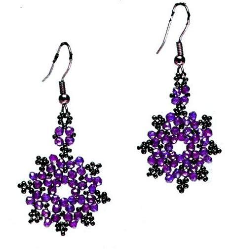 859 best jewelry bead weaving earrings images on