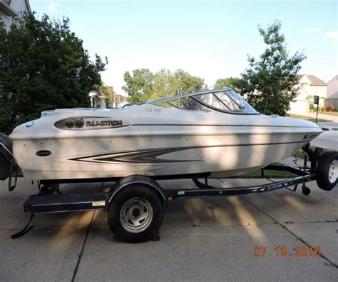 glastron electric boat 2001 glastron x175 power boat for sale in brownstown mi